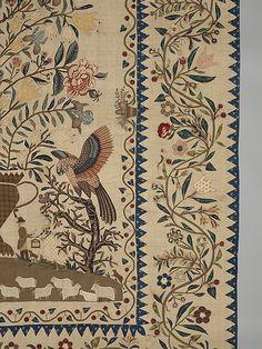 Coverlet, Pictorial Pattern - met museum of Art