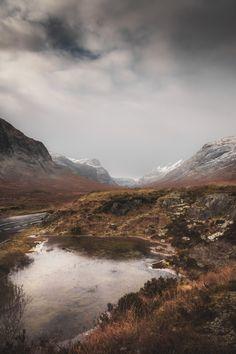 frederickardley:  Cold Mountain Air -Glen Coe Scotland Limited...