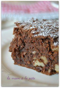 brownies végétalien