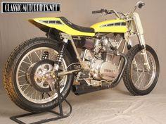 yamaha 650 flat track racers | Yamaha XS Flat Tracker