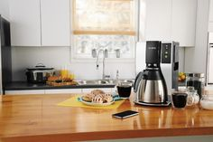 The all might WiFi has reached one of the world's favorite home appliance, the coffee maker! Mr Coffee's WiFi enabled coffee maker allows you to control it using your smart phone or tablet, where you can schedule and adjust brews and set up reminders so there's always fresh coffee exactly when you need it!