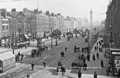 Reino Unido Turismo Acceda al sitio para obtener información Ireland Pictures, Old Pictures, Old Photos, Vintage Photos, Latina, Denmark Travel, Photo Engraving, Dublin City, Photographic Studio