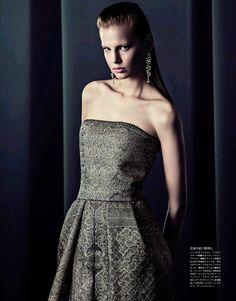 ☆ Elisabeth Erm | Photography by Sebastian Kim | For Vogue Magazine Japan | June 2014 ☆ #Elisabeth_Erm #Sebastian_Kim #Vogue #2014
