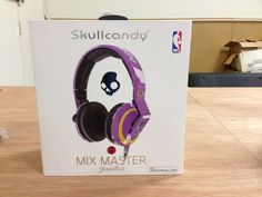 Skullcandy MIX MASTER NBA Edition over-ear Studio Quality Headphones. These things KICK!!! If you want the best of the best Skullcandy's, than look no further, alongside this model is the other one called Skullcandy ROCNATION AVIATOR