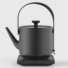 Royal College of Art graduate Keren Hu has created a smaller, quieter and faster kettle that's designed specifically for use outside of the kitchen