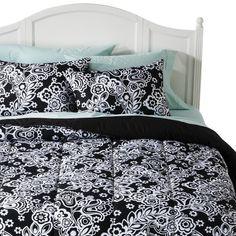 teen bedding sets for girls Pink Black Flower Girl Teen Kid