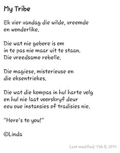 Poetry Books, Afrikaans, My Life, Van, Positivity, Quotes, Qoutes, Vans, Quotations