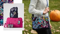 Beautiful Bags, Vera Bradley, Messenger Bag, Satchel, Stylish, Accessories, Color, Fashion, Moda
