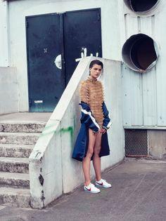 Vogue Turkey August 2017 Julia Van Os by Sofia Sanchez and Mauro Mongiello
