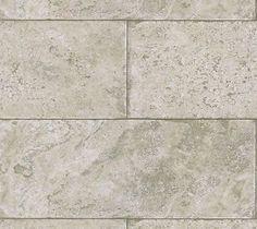 Pewter, Taupe, Grey Stone Block Limestone Tile Wallpaper 5522723
