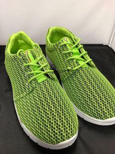 2192ee0f5b2c Neon Green Alpine Swiss Athletic Sneaker Mens 8 Womens 10  fashion   clothing  shoes