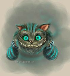 New cheshire cat from the new Alice in Wonderland movie directed by Tim Burton and featuring Johnny Depp as the Mad Hatter. Cheshire Cat Art, Cheshire Cat Tattoo, Cheshire Cat Alice In Wonderland, Chesire Cat, Tim Burton, Tattoo Gato, Cat Tattoos, Hp Tattoo, Ankle Tattoos