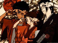 Jin, Mugen and Fuu - samurai-champloo Wallpaper