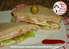 Sanduíche com patê de atum - Espaço das delícias culinárias