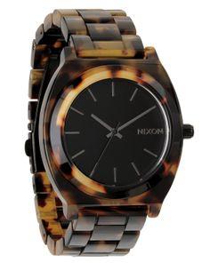 Time Teller Acetate Tortoise Watch