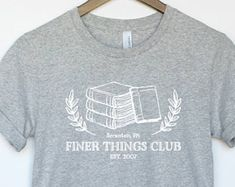 a22c32af Finer Things Club T-Shirt - Dunder Mifflin Paper Co. - The Office Shirt
