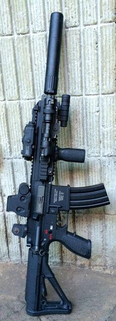 HK 416 DEVGRU AAC SPR SILENCER ...Hellllllo gorgeous!