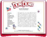 #4thofJuly #word #search for kids from #DumDums! Download more seasonal printable activities at DumDumPops.com! Word Search, 4th Of July, Coloring Pages, Activities For Kids, Printables, Quote Coloring Pages, Independence Day, Children Activities, Print Templates