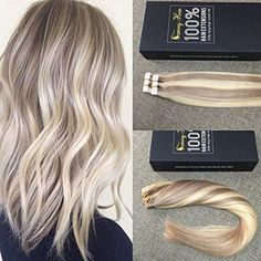 18 613 short fade roots hair extensions ash blonde to