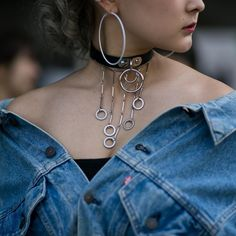 The accessory game is on point on the streets of Seoul.