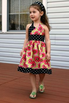 Adorable Criss-Cross Top or Dress- Any Size! | YouCanMakeThis.com