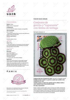 Resultado de imagen de tortugas coloridas al crochet paso a paso
