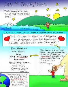 Doodle Through The Bible: Job 9 Free coloring page available at the website :)