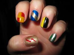 Harry Potter nails <3