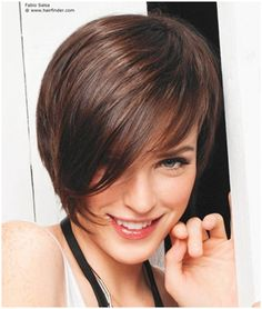 Style 5: Wavy bob cut with side fringe Take a classic bob and add waves from the mid length along with a side fringe for a dainty yet smart look. This works best for fine to medium hair.