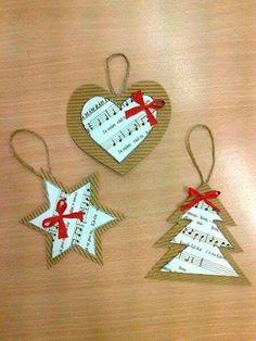 Class Arts DIY Ideas for Christmas [Rallye-Liens] Diy Christmas Cards, Christmas Crafts For Kids, Christmas Angels, Christmas Projects, Handmade Christmas, Holiday Crafts, Christmas Gifts, Farmhouse Christmas Ornaments, Christmas Tree Ornaments