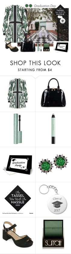 """""""Graduation Luncheon"""" by sojazzed ❤ liked on Polyvore featuring Relaxfeel, shu uemura, Plukka, CL by Laundry, Surratt, Graduation, ClassOf2017 and clbylaundry"""