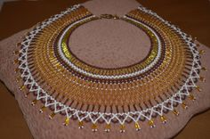 1000 Ideas About Beaded Necklace Patterns On Pinterest
