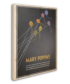 Take a look at this 'Mary Poppins' Canvas Wall Art on zulily today!