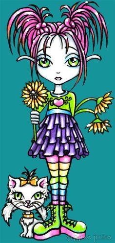 main gallery3 - Fairy & Fantasy Artist Myka Jelina. Official Online Gallery. Fantasy Art, Gothic Faery Art, Tribal & Steam-Punk Fairies. Faerie Tattoos. Acrylic Paintings, Art Prints.