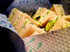 Nothing more gratifying than a recipe that people fall in love with , it makes all the effort worth it . The coriander adds a fantastic asian zing , these beautifully creamy cucumber sandwiches rate very high on the fall in love radar , perfectly paired with a fruit salad on a warm summer's day , perhaps a pitcher of home-made lemonade