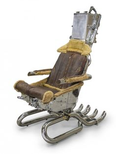 Ejection Seat by Hangar 54 | Cool Stuff | Pinterest | Ejection seat Car garage and Furniture ideas  sc 1 st  Pinterest & Ejection Seat by Hangar 54 | Cool Stuff | Pinterest | Ejection seat ...