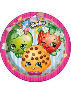 "Shopkins 9"" Lunch Plates (8 Count) $2.59"