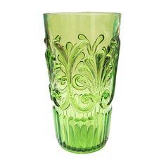 """Le Cadeaux - Le Cadeaux Polycarbonate 6.5"""" Highball Glass - Light Green"""