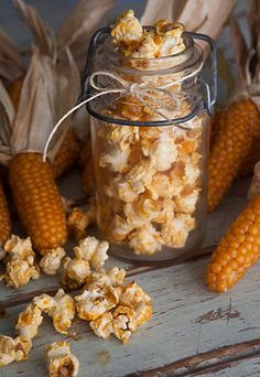 Spicy Ginger-Lime Popcorn:  Prep Time: 5 Minutes Cook Time: 7 Minutes Makes: 6 Cups