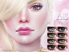 Eyes in 25 colors found in tsr category 'sims 4 eye colors' cc fe Sims 4 Mods Clothes, Sims 4 Clothing, Sims Mods, Sims 4 Cc Eyes, Sims Cc, Eye Colors, Colours, Sims 4 Cc Makeup, Sims 4 Cc Furniture