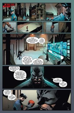 Jason Todd vs Batman in Red hood and the Outlaws Rebirth