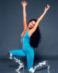 The Cher Show is 35 smash hits, six decades of stardom, two rock-star husbands, and enough Bob Mackie gowns to cause a sequins shortage in New York City. 70s Fashion, Look Fashion, Paper Fashion, Fashion Art, Disco Fashion, Vogue Fashion, Fashion Vintage, Fashion Trends, Fashion Outfits