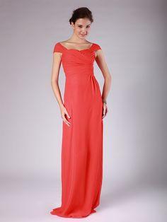 Tie Back Column Dress