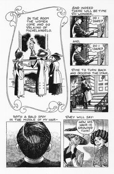 24-page comic-book illustrated Love Song of J. Alfred Profrock by T. S. Eliot julianpeterscomics.com