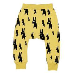 Beau Loves - Rabbits davenport pants (vintage yellow)