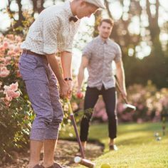 Looking for summer fun? Host a Garden Party and Croquet Classic #croquet