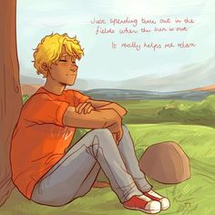 Will Solace. I really like his character :) (No I do not ship him with Nico)<<I wanna see your reaction to the hidden oracle Percy Jackson Ships, Percy Jackson Fan Art, Percy Jackson Fandom, Rick Riordan Series, Rick Riordan Books, Solangelo, Percabeth, Saga, I Take A Nap