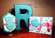 OSAT Blog Hoppers No Rules New Year, Stampin' Up! A Nice Cuppa, Card Tea Bag Holder Set