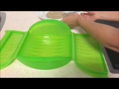 Tortilla de plátano y canela en estuche de vapor Lekue - YouTube Tortilla, Tupperware, Ice Cube Trays, Youtube, Canela, Banana Bars, Sweets, Light Recipes, Meals
