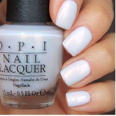 $10.43 - Opi Alice Oh My Majesty! White Alabaster Pearl French Nail Polish Lacquer Ba2 >> #ebay #Fashion